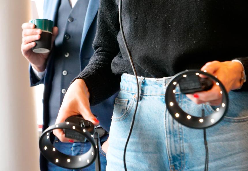Expérience immersive en magasin VR