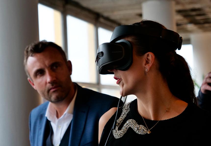 Expérience immersive VR en magasin