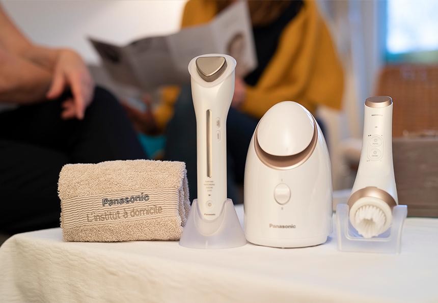Expérience client : Institut de beauté Panasonic à domicile